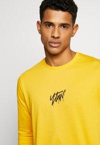 YOURTURN - Maglietta a manica lunga - yellow - 5