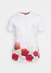 Brave Soul - GOLDEN - Print T-shirt - optic white - 3
