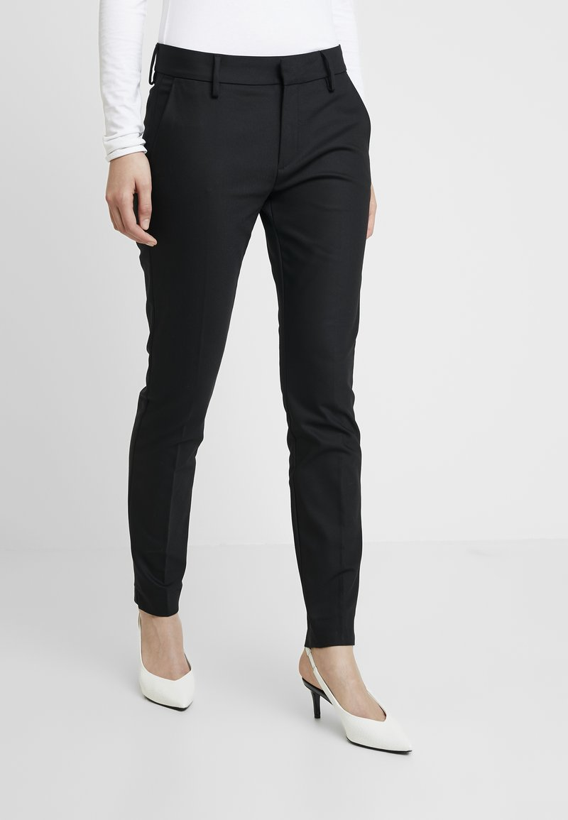 Mos Mosh - ABBEY PANT  - Kalhoty - black