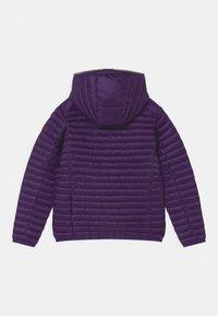 Save the duck - IRIS HOODED UNISEX - Light jacket - deep purple - 1