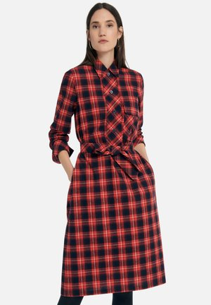 Skjortekjole - rot/multicolor