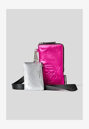 Portefeuille -  pink/silve