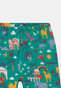 Frugi - LIBBY PRINTED ANIMALS - Leggings - Trousers - green - 2