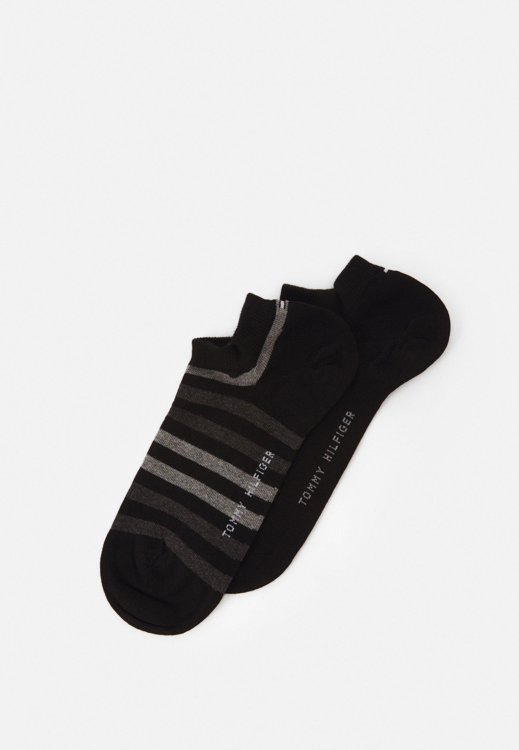 Men MEN DUO STRIPE SNEAKER 2 PACK - Trainer socks