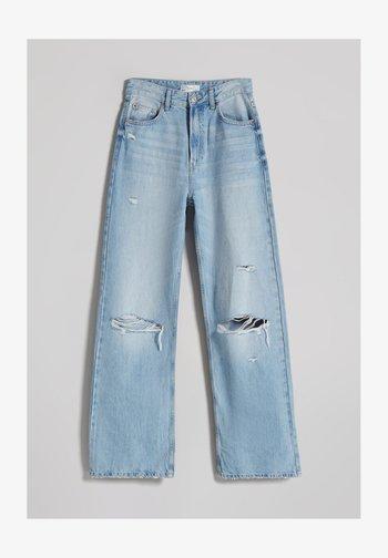 90s WIDE LEG - Flared Jeans - blue denim