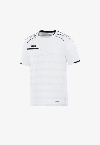 FUSSBALL - Print T-shirt - weissschwarz