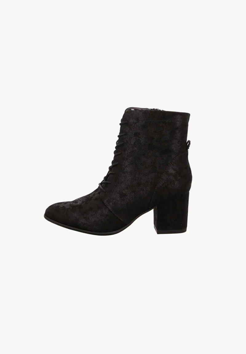 Jana - Lace-up ankle boots - schwarz