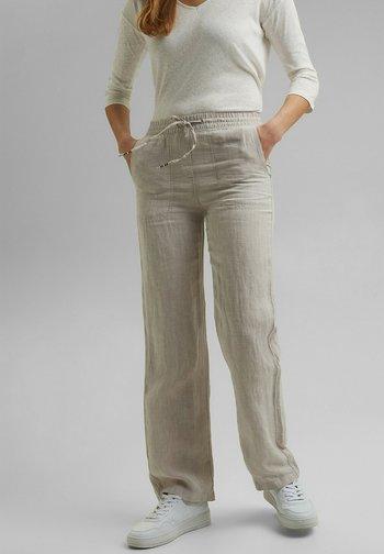 Trousers - light beige