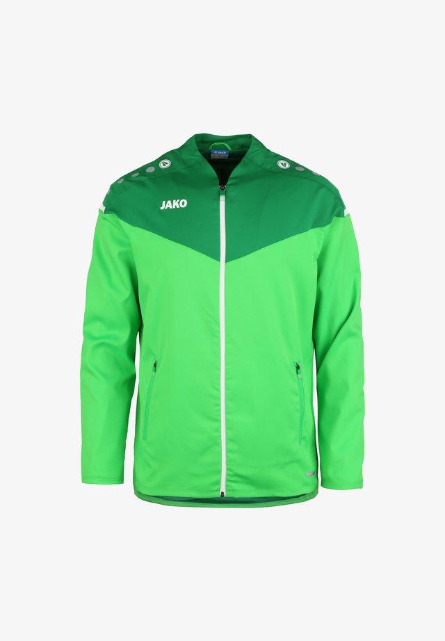 Veste de survêtement - soft green / sportgruen