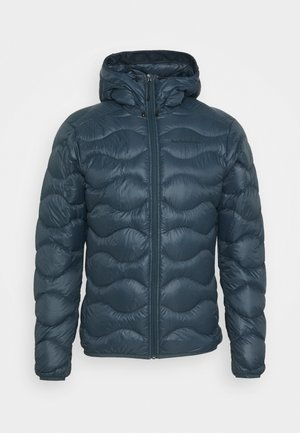 HELIUM HOOD JACKET - Down jacket - blue steel