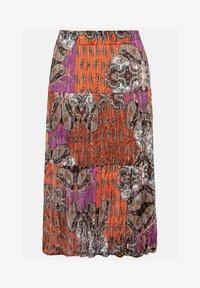 Ulla Popken - MIT 3 STUFEN - A-line skirt - multicolor - 3