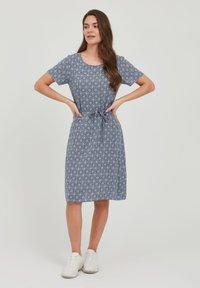 Fransa - FRANSA - Day dress - vintage indigo mix - 1