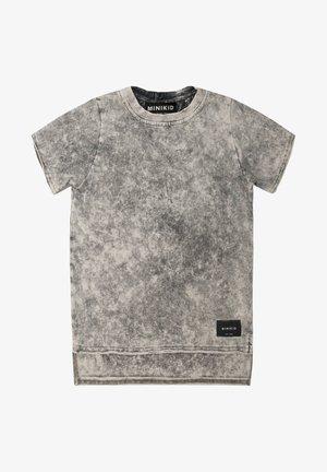 T-shirt print - acid grey