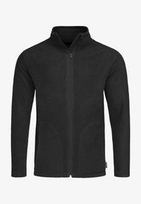 Fleece jacket - black opal