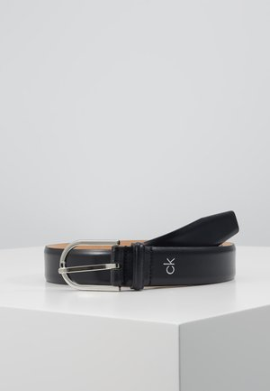 ROUND BUCKLE - Belt - black
