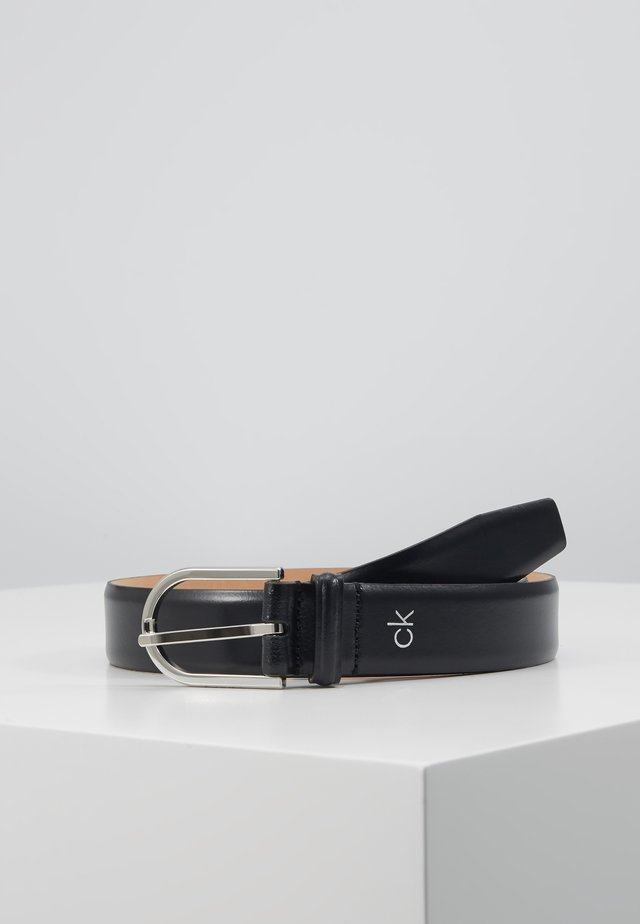 ROUND BUCKLE - Cintura - black