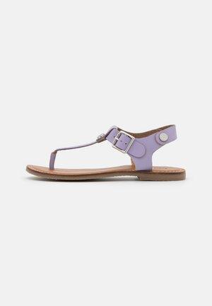 TALLY - T-bar sandals - lila
