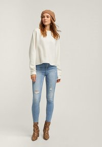 Stradivarius - Jeans Skinny Fit - light-blue denim - 1