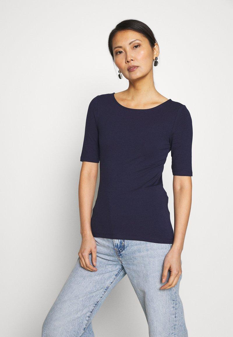 Anna Field - Jednoduché triko - maritime blue