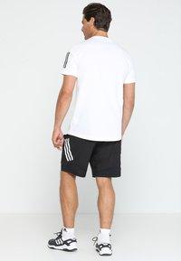 adidas Performance - 4KRFT TECH WOVEN SHORTS - Korte broeken - black/white - 2