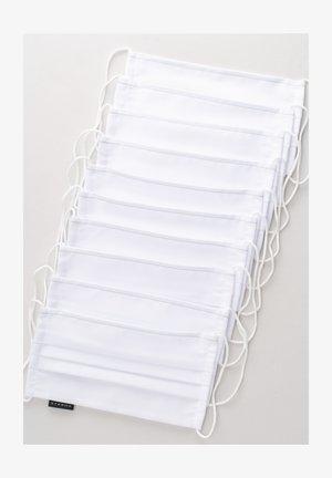 10 PACK  - Masque en tissu - weiß