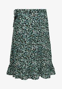 ONLY - Wrap skirt - dusty turquoise - 3