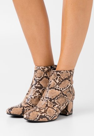 EVIE WIDE - Ankle boots - beige