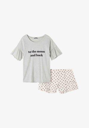 Pyjama set - light grey