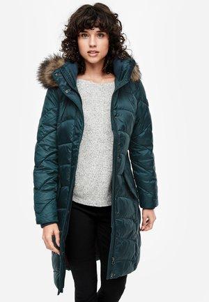 Winter coat - deep teal