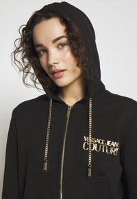 Versace Jeans Couture - LADY LIGHT - Hoodie met rits - nero - 3