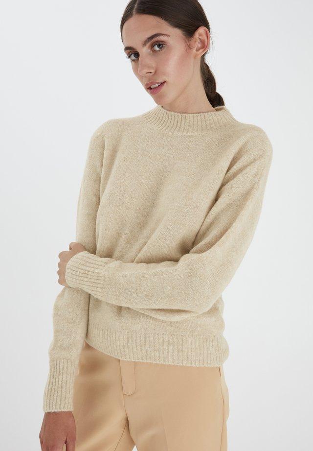IHAMARA LS - Sweter - natural