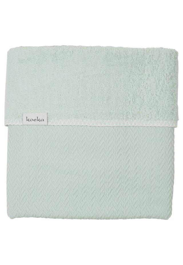 WIEGEDECKE STOCKHOLM - Baby blanket - misty mint