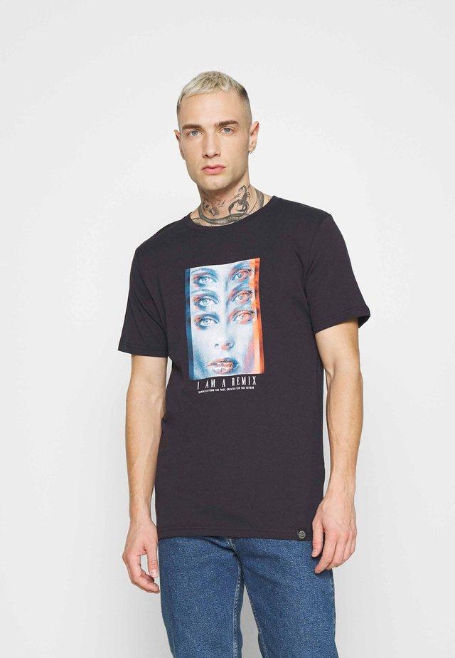 TEE  - T-shirt imprimé - dark navy