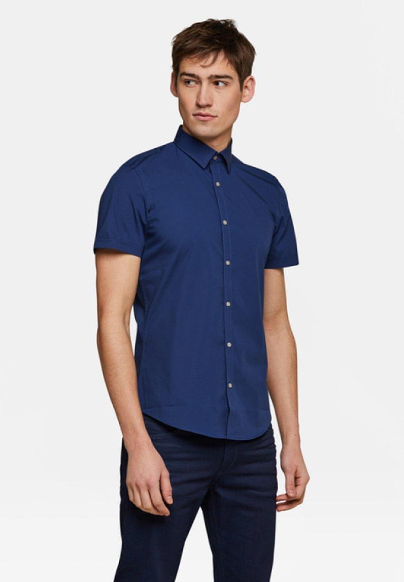 WE Fashion - Vapaa-ajan kauluspaita - blue