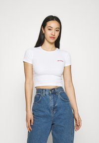 BDG Urban Outfitters - BABY TEE - Basic T-shirt - white - 0