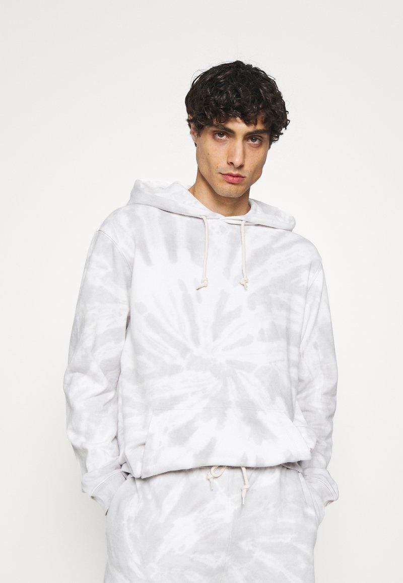 GAP - TIE DYE HOOD - Sweatshirt - grey