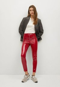 Mango - ESTHER-I - Trousers - rood - 1