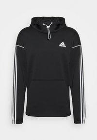 adidas Performance - AEROREADY  - Hoodie - black/white - 4