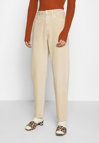 Weekday - LASH - Jeans relaxed fit - light beige - 0