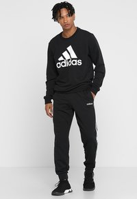 adidas Performance - BOS CREW - Sweatshirt - black/white - 1
