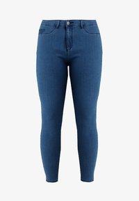 ONLY Carmakoma - CARSTORM - Jeans Skinny Fit - medium blue denim - 4