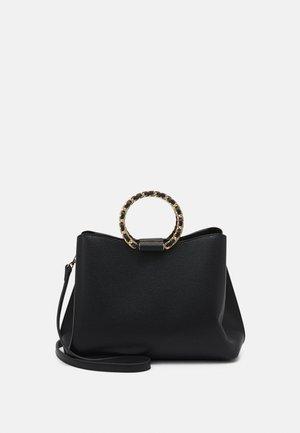 ADDREINNA - Handbag - black/gold-coloured