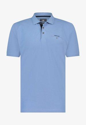 Polo shirt - blue plain