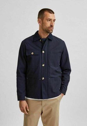 ARBEITER - Summer jacket - navy blazer