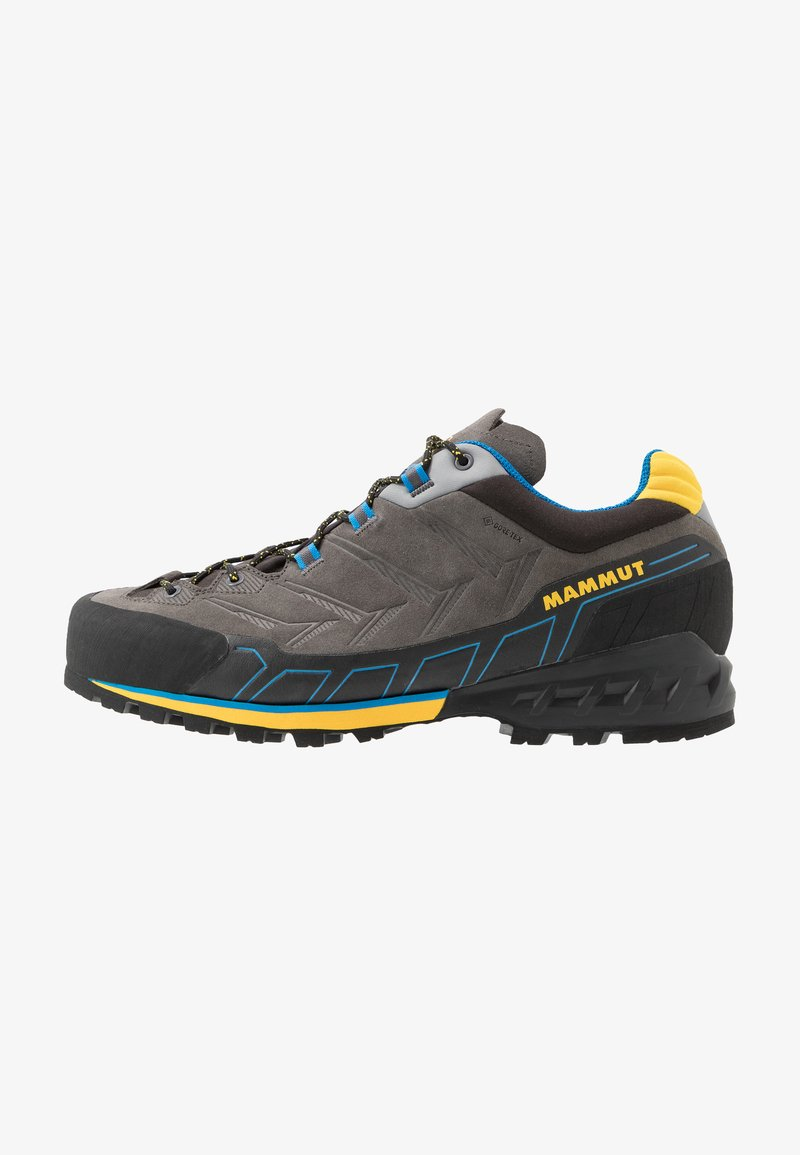 Mammut - KENTO LOW GTX MEN - Climbing shoes - dark titanium/freesia