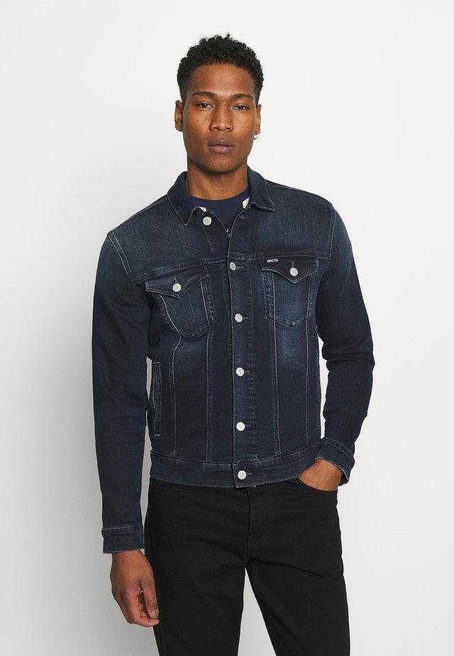 TRUCKER JACKET COBBS - Veste en jean - blue denim