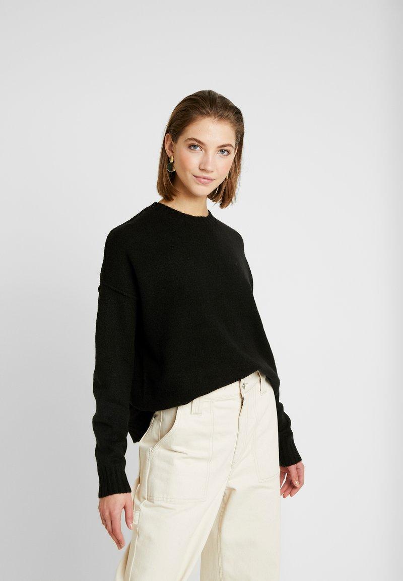 Cotton On - LUXE - Strikkegenser - black