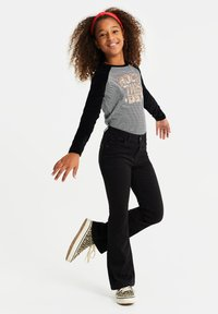 WE Fashion - Jeans Bootcut - black - 1