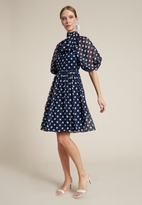 Luisa Spagnoli - PEDALE - Day dress - var blu/panna - 1