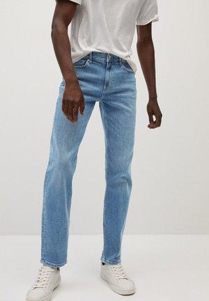 BOB7 - Straight leg jeans - mellemblå